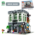Super grande 2418 pcs banco de tijolos blocos de construção de brinquedos blocos de construção casa de criadores da cidade são compatíveis com lego tijolos