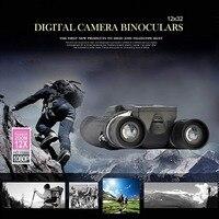12x32 5MP видео фото Регистраторы цифровой Камера бинокль телескоп с 2 ЖК дисплей Экран для охоты, рыбалка, бинокль, на открытом воздухе