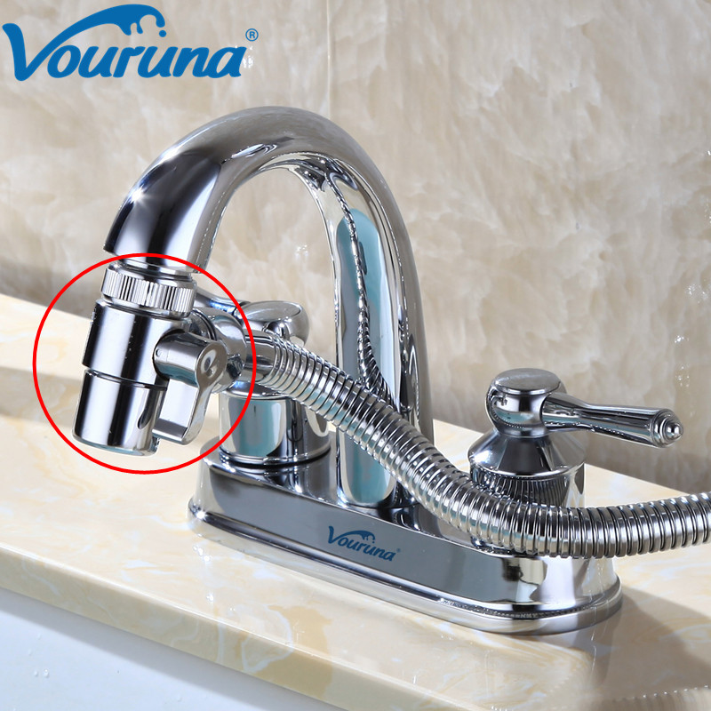 Superb Us 9 87 48 Off Solid Metal Kitchen And Bathroom Faucet Diverter Aerator Sink Mixer Tap Basin Faucet Spout Replacement Part In Chrome In Aerators Download Free Architecture Designs Barepgrimeyleaguecom