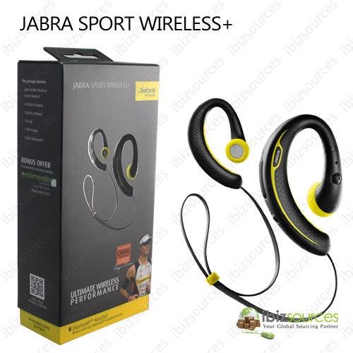 5772baba436 GENUINE BRAND NEW JABRA SPORT WIRELESS + BLUETOOTH MONO HEADSET IN BLACK  wireless plus