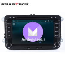 2 Din Android 6.0 VW Car Stereo Radio DVD GPS Wifi Aux For VW GOLF POLO JETTA TOURAN EOS PASSAT CC TIGUAN SHARAN SCIROCCO Caddy