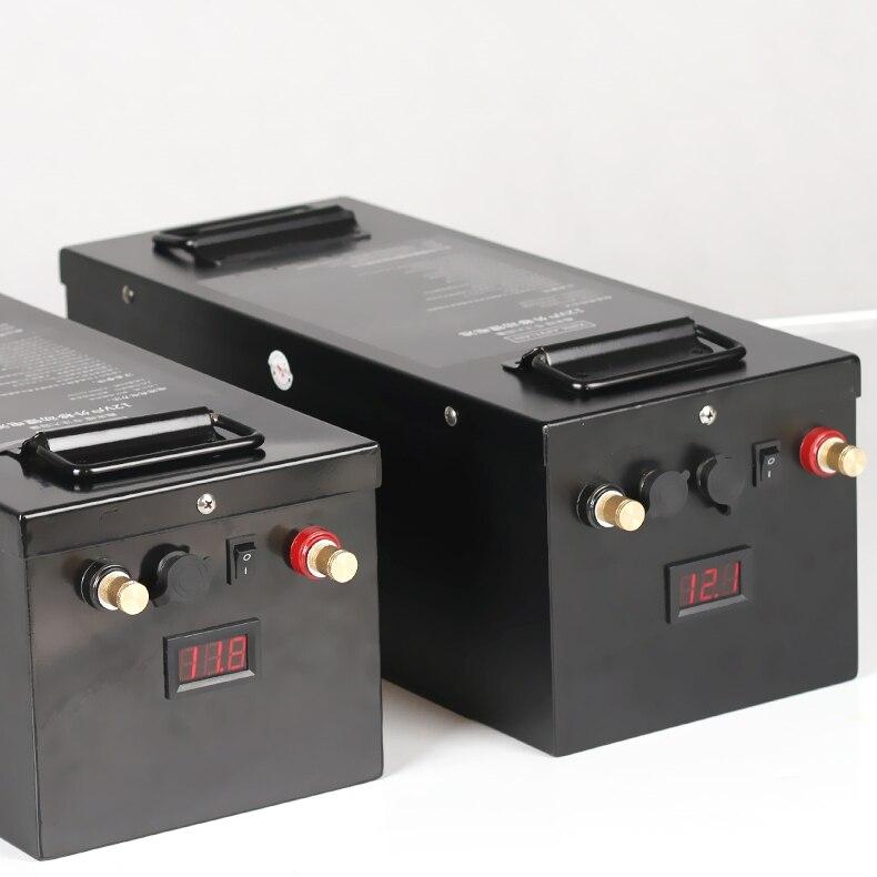 Ad alta capacità 12 V 200AH 300AH agli ioni di litio li-ion li-polymer Batteria per camper, motori della barca, e-la nave, pannello solare, fonte di alimentazione