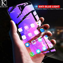 все цены на KASCEN Anti Blue Light Tempered Glass For Xiaomi Redmi S2 5.99inch Explosion-proof Screen Protector For Xiaomi Redmi S2 S 2 онлайн