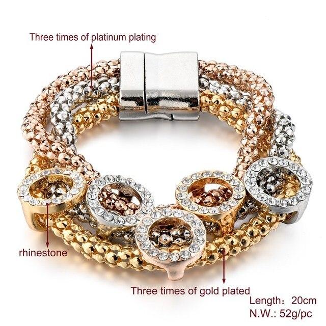 женский браслет из нержавеющей стали с кристаллами sbr160366 фотография