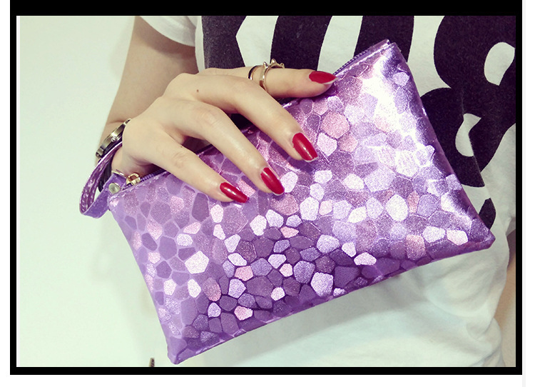 Women Fashion Autumn Winter New Korean Style Hand Clutch Bag Clutches Bags Online Shopping Black Silver Gold Blue Purple17