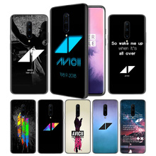Avicii Soft Black Silicone Case Cover for OnePlus 6 6T 7 Pro 5G Ultra-thin TPU Phone Back Protective