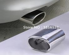 1 шт., высококачественные чехлы из нержавеющей стали для выхлопной трубы BMW E90 E91 E92 E93 318i 318d X1 E87 E81, аксессуары