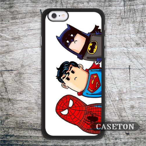 Lovely Super Hero Case For iPhone 7 6 6s Plus 5 5s SE 5c and For iPod 5 High Quality Classic Funny Protective Cover Wholesale