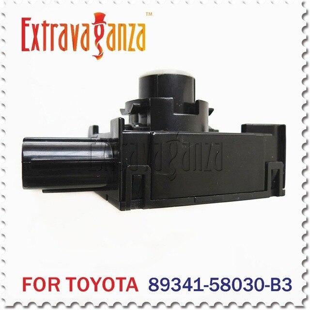 2pcs Parking Sensor Park Ultrasonic sensor 89341-58030-B3 89341-58030 For Toyota Lexus Wireless Parking Sensors