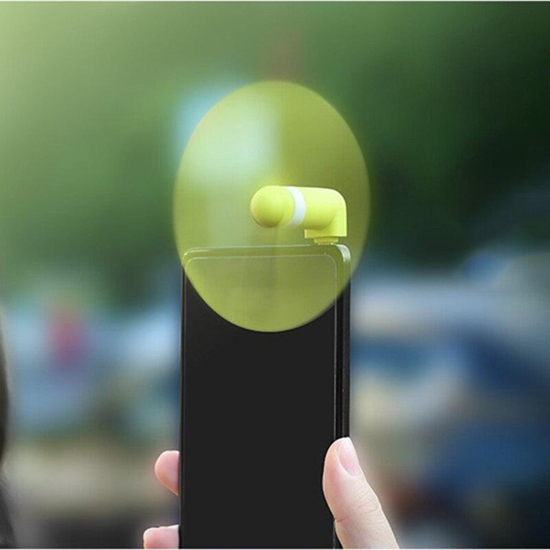 Mini Portable Cool Micro USB Fan Mobile Phone USB Gadget Fans Tester usb Ventilador For Xiaomi
