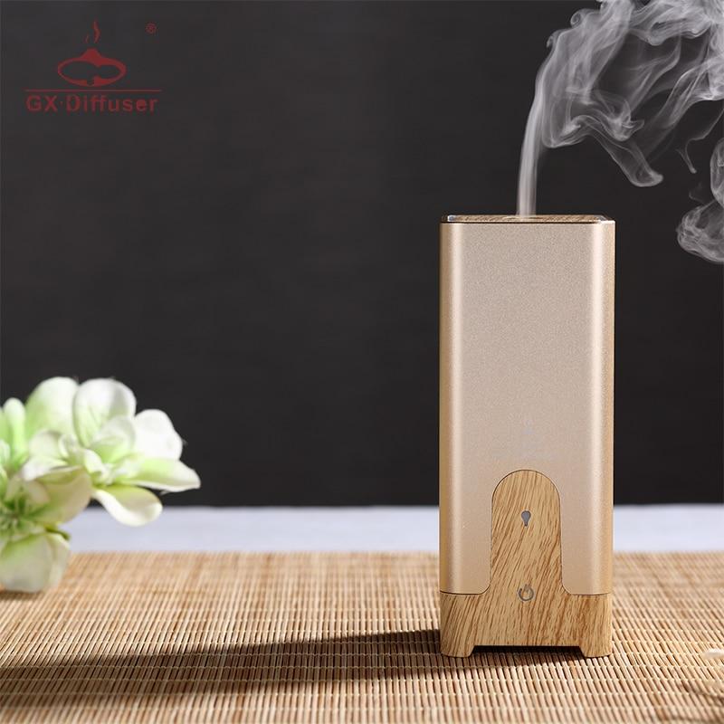 GX.Diffuser GX-B03 Mini Car USB Diffuser Aromatherapy Essential Oil  Aroma Diffuser Ultrasonic Humidifier Electric Air Purifier
