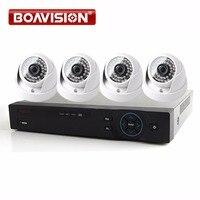 1080P 4Channel 4ch HDCVI DVR Camera Kit System 2MP HD IR Indoor Dome Surveillance Security CCTV