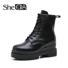 Fashion Women Boots Genuine Leather/Nubuck Black Women Ankle Boots Cow Leather Casual Lady Shoes Short Plush Winter Female Shoes 2017 novelty women s sandals ankle wrap genuine leather loop hook women shoes dark pink female shoes cow leather