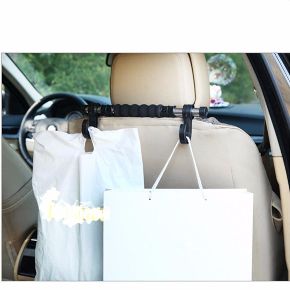 Space Saving Car Back Seat Hook Organizer With Double Hangers Headrest Hanger Holder Hooks For Bag Purse Clothes In Shelves From Automobiles Motorcycles