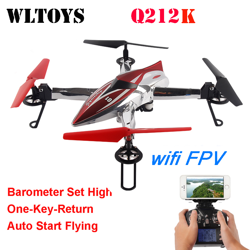 WLtoys Q212K WiFi FPV One-Key-return & Take Off Barometer Set High RC Quadcopter with HD Camera RTF настольные игры djeco игра лото дом