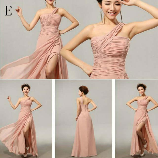 CX SHINE Chiffon Split long Bridesmaid Dresses Custom colors Mix style cheap  wedding Prom Dress party 9f62fe4bb0aa