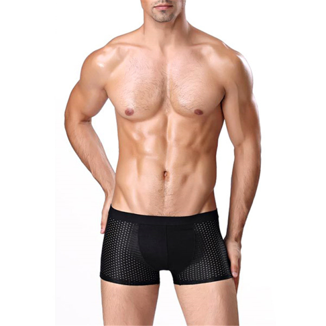 4Pcs/Set Men Boxer Soft Breathable Underwear Male Comfortable Solid Panties Cueca Boxershorts Boxers high quality Underpants New