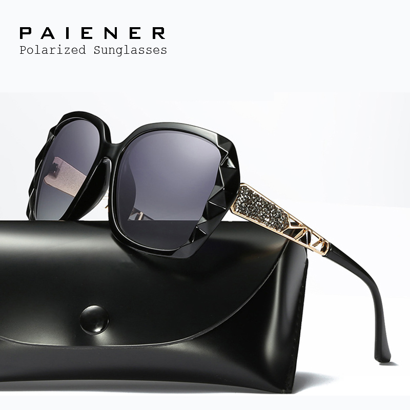 2017 Ladies Luxury Elegant Brand Polarized Sunglasss