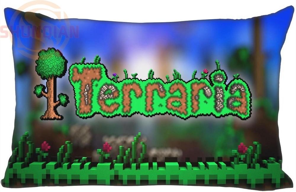 Nová terraria Klasická hra Polštář Case 35X45cm (jedna strana) Pohodlně nejlepší dárek pro Vaši rodinu High Quality & F