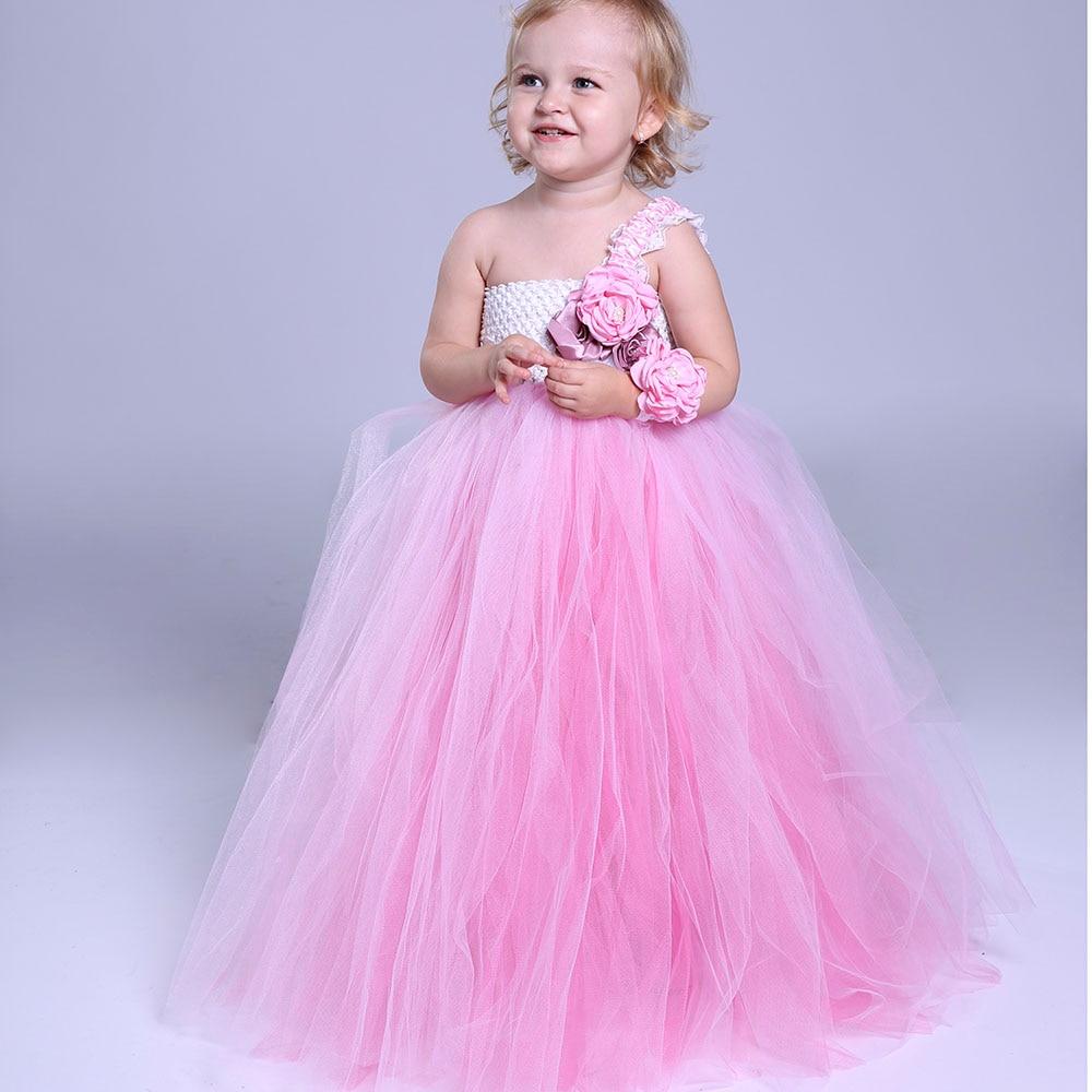Contemporáneo Vestido De Partido Del Bebé De Color Rosa Inspiración ...