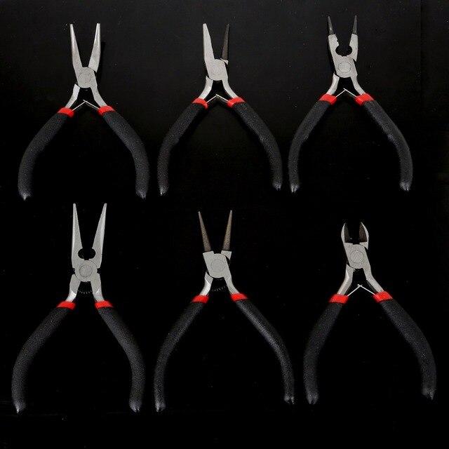 Atacado altura qualidade 1 pc/saco comprimento 11/12/13 cm cor preta lidar com alicates para diy jóias fazendo alicate ferramenta