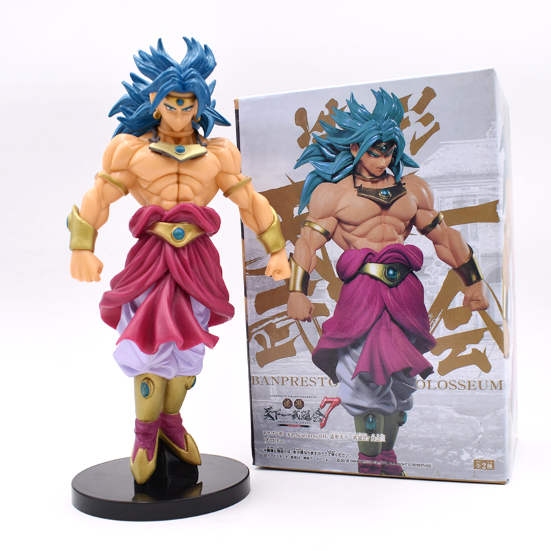 Free Shipping 8inch 20cm Dragon Ball Z Broli Broly Anime Action Figure PVC New Collection Figures Toys Collection For Children 19cm dragon ball z bulma sexy anime action figure pvc new collection figures toys collection for christmas gift