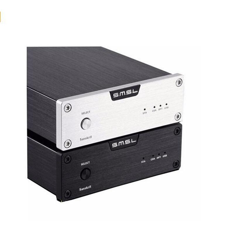 SMSL Sanskrit 6 (SK6) WM8740 32Bit / 192kHz USB DAC Coaxial Optical Decoder