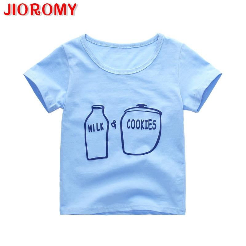 T-Shirt Short-Sleeve Children's-Wear Kids'korean Boys' Summer New F1 Alphabetic