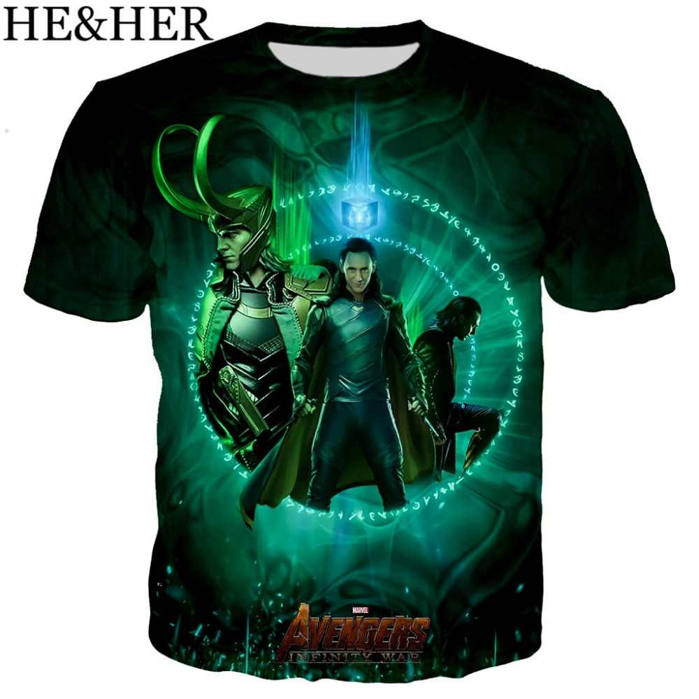 Camiseta divertida I Am Loki Sherlock para hombre, camiseta estampada en 3D, camisetas divertidas a la moda de verano, camisa fresca para hombres y mujeres, top casual unisex
