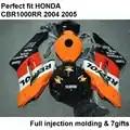 Motorcycle carrosserie kuip kit voor Honda CBR1000RR 04 05 orange zwart fairings cbr 1000RR 2004 2005 CY02