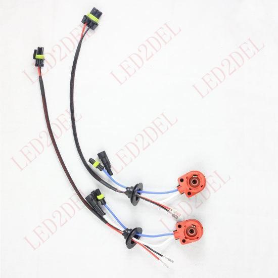 D2S D2R D2C D4S D4R D4 Hidupkan AMP HID Konektor Xenon Wiring Harness - Lampu mobil - Foto 3