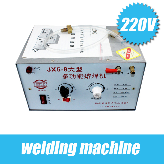 220 V argent de soudage machine de soudage/de fusion or//à souder/température maximale jusqu'à 2000/faible consommation de carburant goldsmit
