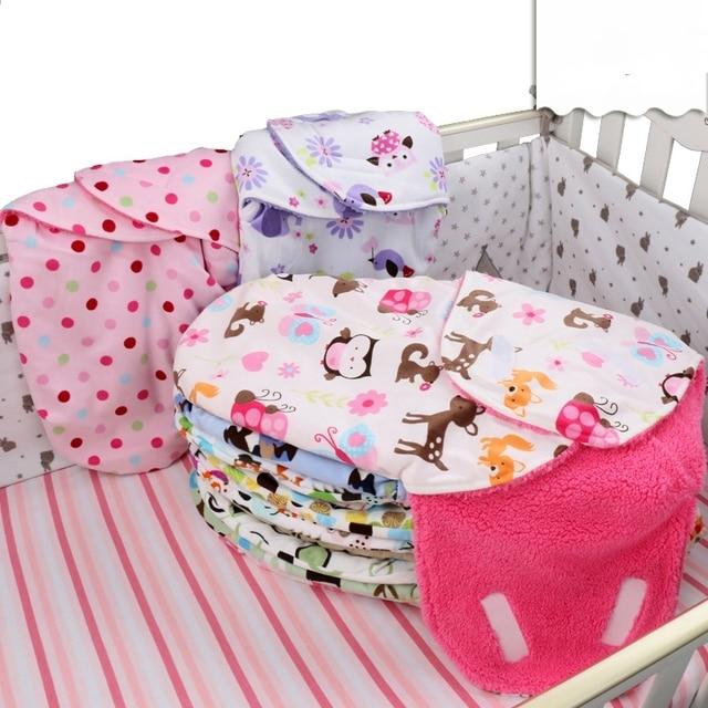 Ребенка спальный мешок новорожденный wikkeldeken couette enfantcute мультфильм муслин пеленать аден анаис детское одеяло конверт dormir сако