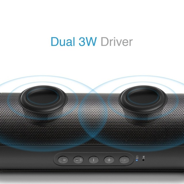 Outdoor Waterproof Super Bass Bluetooth Speaker Mini Portable Wireless Column Loudspeakers Speakers for iPhone Samsung