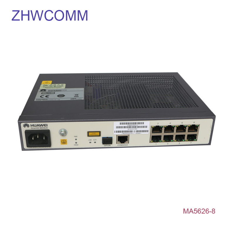 Cellphones & Telecommunications Zhwcomm Hua Wei 19 Inch Ma5626-8 Pd Gpon Ac /epon/ge Terminal With 8 Ethernet Ports Fiber Switch