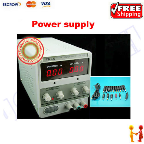 Freeshipping ! Practical TU-305D 0-30V 5A adjustable digital DC regulated power supply ,send gifts cps 6011 60v 11a digital adjustable dc power supply laboratory power supply cps6011
