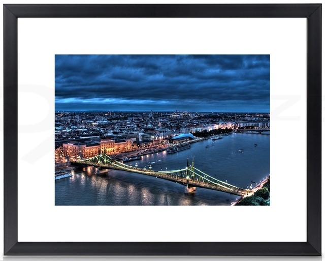 11x14 Picture Frame Wall Art Frame Poster Frame With Single Mat