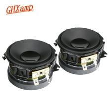 GHXAMP Altavoces de rango medio para coche, 2,25 pulgadas, 58MM, caja de sonido de cine en casa, bricolaje, 15W, 8OHM, 2 uds.