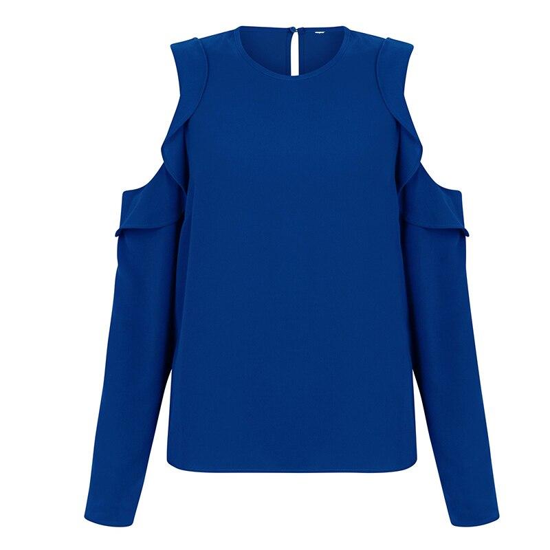 Plus Size 2019 Autumn Summer Long Sleeve Casual Off The Shoulder Chiffon Tops Shirts Blouse Women Blusas XXXXL 5XL 6XL