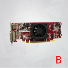 Новая видеокарта для AMD HD7350 7350 видео видеокарта DVI + DP PCI Express 2.1×16 pci-e x16 512 М 64bit DDR3 03T7093