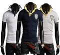 Summer Turn-down Collar T Shirt Men Polo Shirts All-match T-Shirt Casual Mens T Shirts Fashion Tee Shirt Top Quality