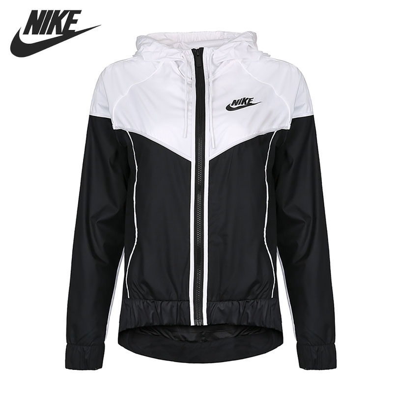 Original New Arrival 2018 NIKE Women's Jacket Hooded Sportswear original nike men s black knitted jacket hooded sportswear