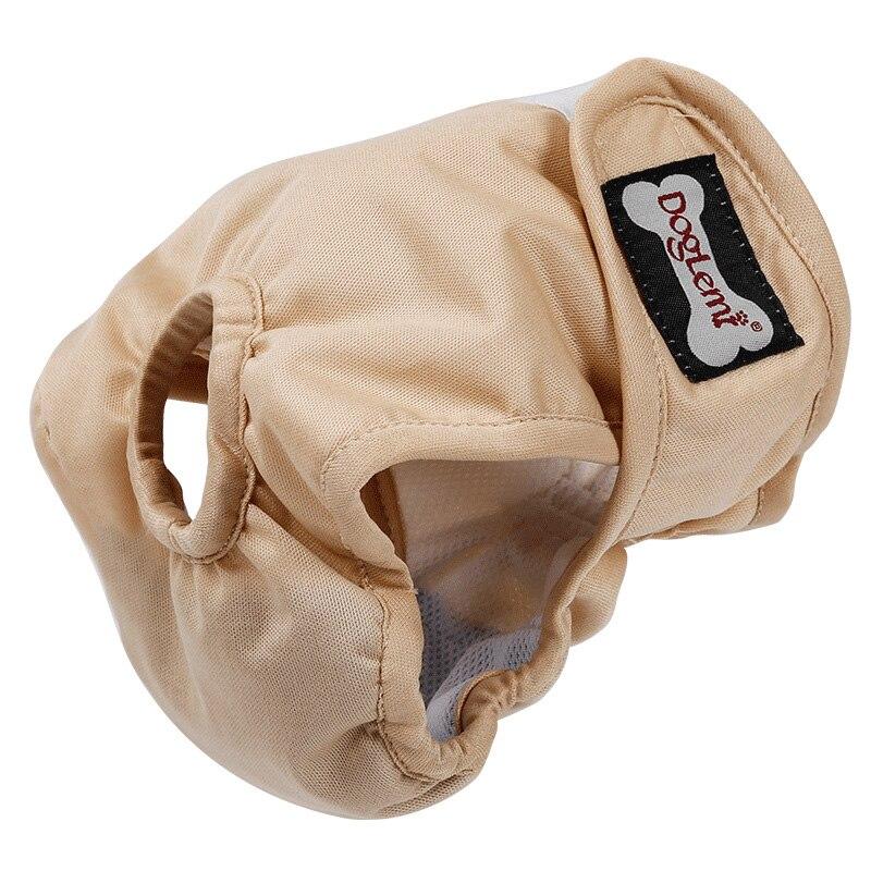 Linda mascota pantalones fisiológicos pantalones ropa interior ropa de perro de poliéster cachorro perro gato de pañales de correa de perro compresas higiénicas bragas corto