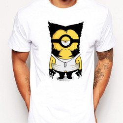 New brand minions retro printed men t shirt fashion banana me pegman vintage printed male tops.jpg 250x250