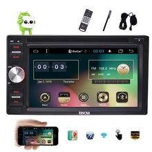 Android 6.0 Car PC DVD Player 2 Din Car Stereo GPS Navigation In Dash Head Unit Radio Receiver Support Bluetooth WiFi OBD2 Video