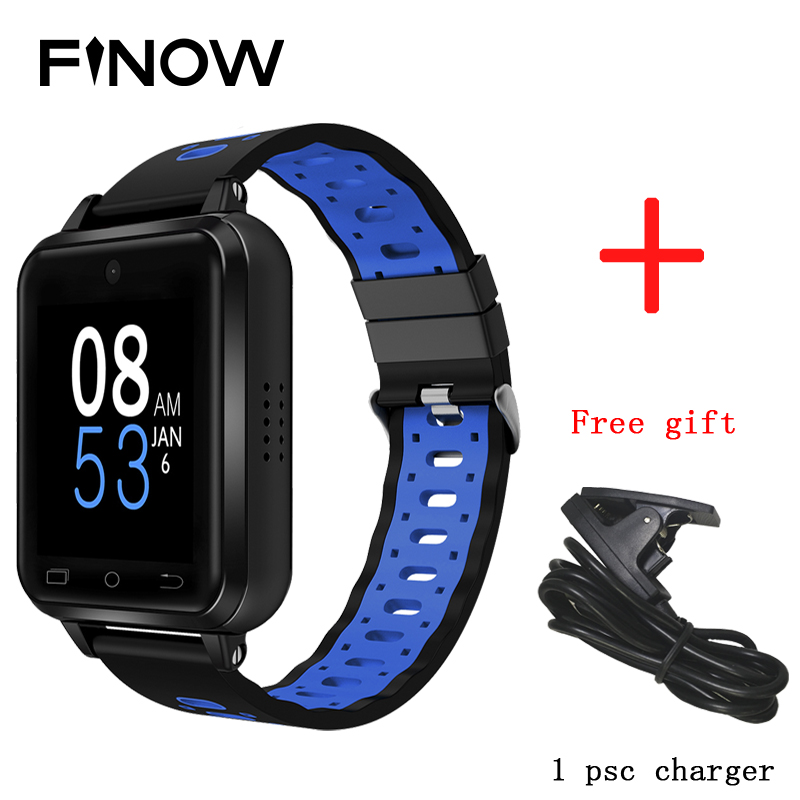 2019 Finow Q1 Pro 4G smart watch Android 6 0 MTK6737 Quad Core 1GB 8GB SmartWatch