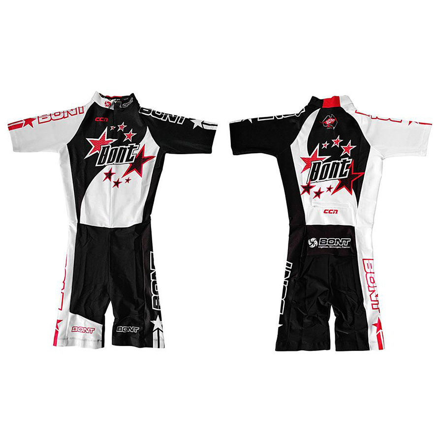 100 Original Bont 2018 STAR SUIT Professional Speed Skating Body Suit Racing Skating T shirt Coverall