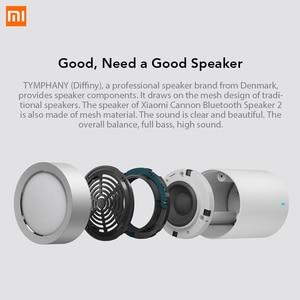 Image 2 - Xiaomi altavoz inalámbrico con Bluetooth 4,1, Mini altavoz metálico manos libres con micrófono y batería de litio integrada