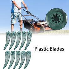 10 Pcs Or 20 Plastic Replacement Strengthened Blades For ART 23-18 LI Grass Trimmer Mower Blade