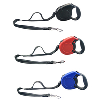 Pet Dog Collar Leash 8M Automatic Retractable Leash Harness Rope Walking Traction Leads Leash For Medium Big Dog leash NZL156